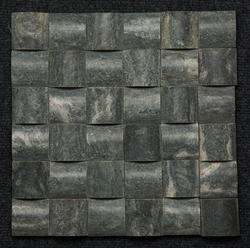 Black Granite D Moulding Mosaic