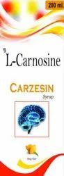 Mango L-carnosine 100 Mg L- Carnosine Syrup, Packaging Size: 200 Ml