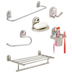 Stainless Steel Bathroom Accessories in Rajkot