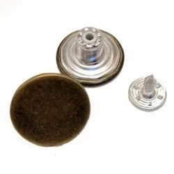 Alloy Brass Jeans Button, For Jeans, Jackets, Size/Dimension: 32l