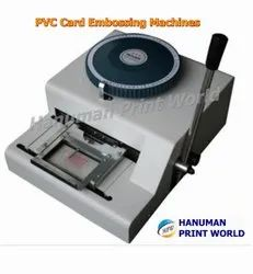 PVC Card Embossing Machines
