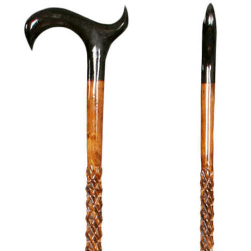 Hand Carved Wooden Walking Stick