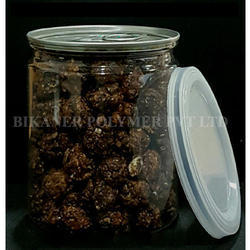 Transparent Chocolates Packing PET Cans, Capacity: 500ml