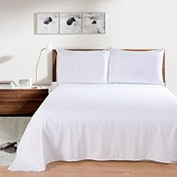 Hotel Cotton Plain Percale Bed Sheet