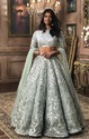 Silk Ethnic Wear Indian Ethnic Designer Mastani Heavy Embroidered Bridal Lehenga