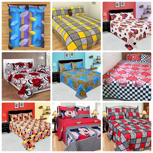 21e8ff0249 Multi Colored Floral Print Softy Bajaj Cotton Bed Sheets, Rs 285 ...
