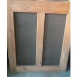 Brown Wood Jali Wooden Window
