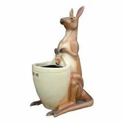 Kangaroo FRP Fiber Dustbins