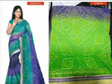 Green Number Two Bonded Cotton Sari
