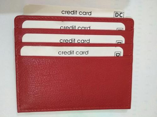 Red Atm Card Holder