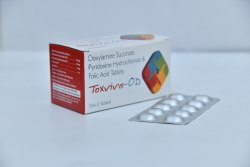 Doxylamine 20mg,Pyridoxine 20mg,Folic Acid 5mg