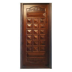 Solid Wood Carved Door