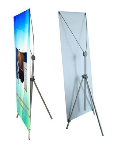 X Frame Banner Stand, Size: 3 X 6 Inch, Rs 900 /unit, AR Digital ...