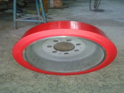 Red Polyurethane Wheels