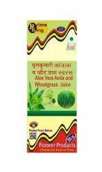Aloe Vera-Amla-Wheatgrass Juice