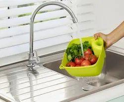 Square Kitchen Basket & Colander