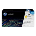 HP Q6002A 124A Yellow Toner Cartridge