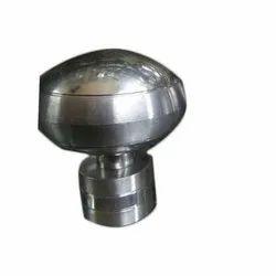 Mild Steel Curtain Brackets, Shape: Round
