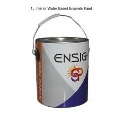 Ensign High Gloss 1L Interior Water Based Enamels Paint, Packaging Type: Tin