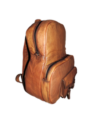 Goat Leather Backpack Bag