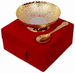 Gold and Silver Plated Single Bowl