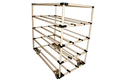 WIPL Steel Modular Pipe Rack 5 Tier Metal Shelving