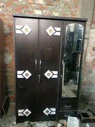 Brown Door Mirror Almirah