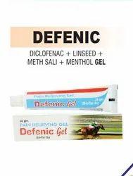 Diclofenac & Linseed Oil & Methyl Salicylate And Menthol Gel