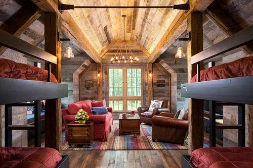 Bunk House Interior Designing