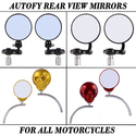 Autofy Side Mirror For All Bikes