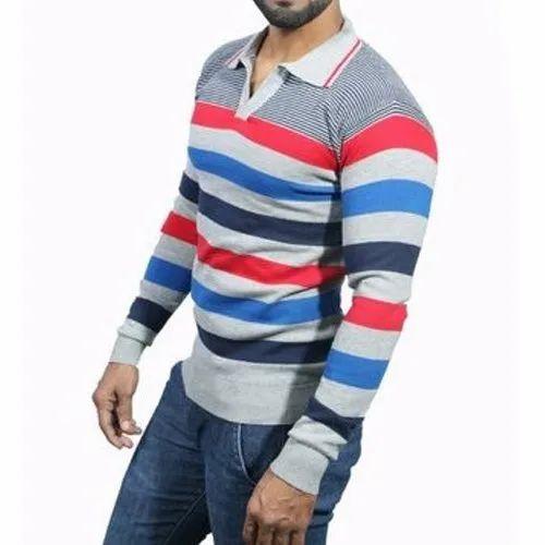 Cotton Men' s Designer T-Shirt