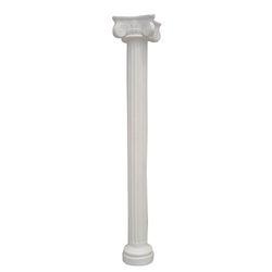 White Fiber Pillar