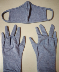 Cotton Mask & Gloves