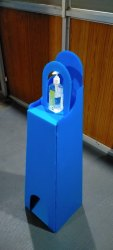 Plastic Foot Operated Dispenser