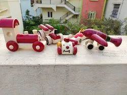 Vehicle Model Natural Wooden Vehicles Toys