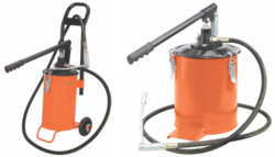Grease Bucket With/ Without Trolley