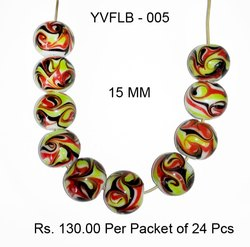 Lampwork Fancy Glass Beads-YVFLB-005