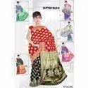 Ladies Butter Silk Cotton 6 Saree