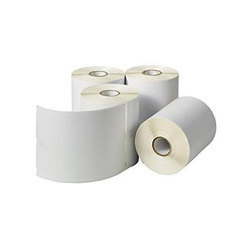 Plain Thermal Paper Roll, 55 GSM