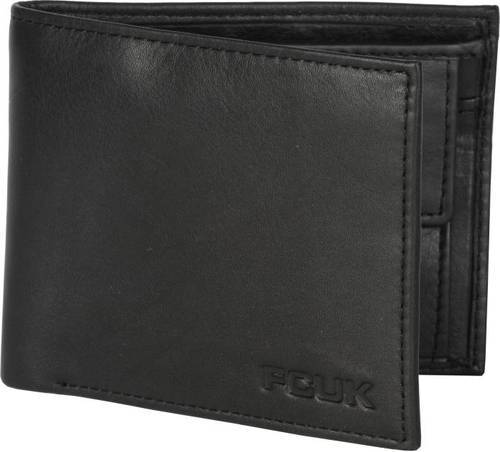 9832adceea42 French Connection (FCUK) Black Original French Connection Men Genuine  Leather Wallet
