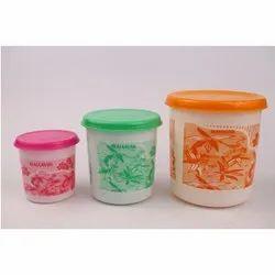 Plastics Food Container Set