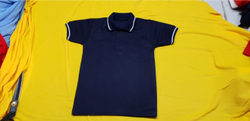 Dark Blue T-Shirt School Uniform