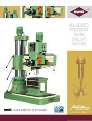 Double Column Radial Drilling Machine (65 MM)