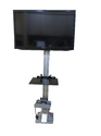 Aluminium Floor Stand For Lcd Tv, Size: 32 To 55 Inch