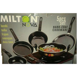 Milton Nova 5 Pc Hard Coat Cookware Set - Induction Base