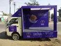 Mobile Van Advertisement Flex Outdoor Advertisement Van Promotion, Mobile Van Advertisement, For Mobile Van