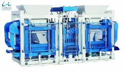 Semi-Automatic Interlocking Block Making Machine