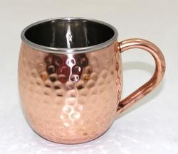 Copper Double Wall Mug