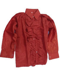 Red Frill Shirt