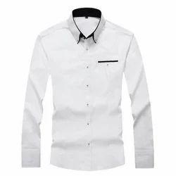 Cotton Plain Mens Full Sleeves Formal Shirt